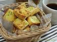 [허니버터 마늘식빵 러스크] 오븐없이 만드는 바삭한 러스크