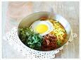 한 그릇으로 한끼 해결하기...대패목살 고추장 비빔밥