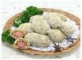 [밥도그] 케일 휴레를 넣어 만든 김치밥도그