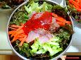 (아빠의 요리) 팔팔 뛰는 참숭어 세마리로 만들어주는 회덮밥