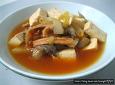 시원한 반건조 오징어 무우국 (명절전 냉장고를 비우며)