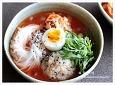 김치말이국수와 김치말이밥을 함께 먹어요, 여름철 별미국수