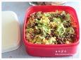 삼색 초밥 도시락 만드는법, 나들이 도시락, 간편한 도시락