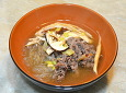 가을 보양식, 송이버섯 소고기전골