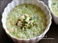애호박죽 끓이는법, 초록빛 고소한 야채죽, 애호박요리