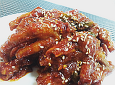 얼얼하게 매운맛에 풍부한 영양! 매운닭발^^