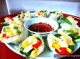 추석 손님접대..초간단으로 접시위에 꽃을 피우는 채소 과일월남