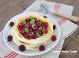 오븐 없이 만드는 근사한 디저트~상큼달콤 산딸기크레이프케이크