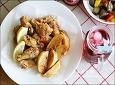 닭튀김만들기! 집에서 깔끔하게 만드는법, 닭봉튀김. 웨지감자