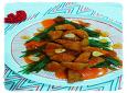스틱 치킨의 놀라운 변신 ~. 성탄 트리 깐풍기.