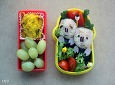 아이 소풍도시락- 꿀꿀이주먹밥 도시락 / 소고기 참치 주먹밥