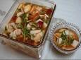 명절때 빠질수 없는 나박김치 만드는법과 치킨무 만들기