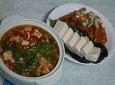 백 선생 집밥 두부 요리, 김치 볶음과 강된장
