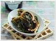 시금치 겉절이 ★ 입맛살리는 가을 보약 김치 만들기