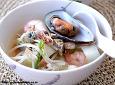 나가사키짬뽕-하얀 국물의 일본 보양식..
