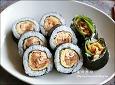 김치김밥/치즈김밥 만드는법,묵은지요리~~고소하고 개운해요