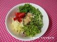 쌈채소 가득 넣어 전복덮밥,전복비빔밥&쫄면&냉면