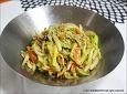 [떡국떡 잡채] 맛있는 떡국떡 잡채 만들기
