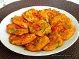 [렌틸콩 김치콩나물전]칼칼하고 고소하고 맛있는 콩나물김치전