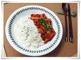 매콤 쫄깃 -오징어덮밥