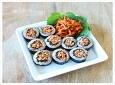 충무김밥을 한입에~ 오징어 무말랭이 초무침 김밥