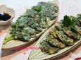 미세먼지 특효약! 방풍나물로 만든 봄부침개