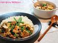 한그릇으로 입맛살리자~갓김치마파두부덮밥
