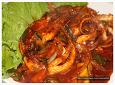 오징어다리 볶음과 오징어덮밥 만들기