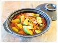 둥근애호박으로 끓인 호박짜글이찌개, 짜글이찌개