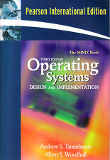 Operating Systems: Design & Implementation(Minix Book)(BK+CD)