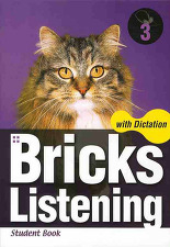 Bricks Listening with Dictation 3 전2권 세트 : Student book + Dictation book
