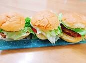 돼지고기 떡갈비로 수제 미니 햄버거 만들기