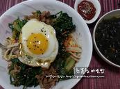 초봄찬비빔밥