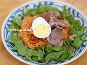 김치비빔국수