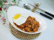 혼자서도 맛있게 김치밥 든든하게~