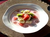 과일 수박 화채