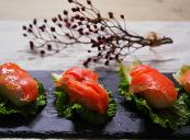 훈제연어초밥