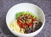 훈제오리비빔밥