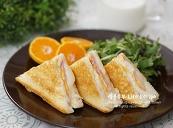 10분 완성! 치즈 쭉쭉~ 백종원 햄멜트 토스트 맛있게 만드는법