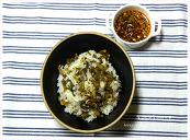 시래기나물밥