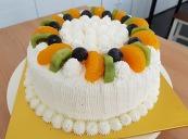 과일생크림케이크