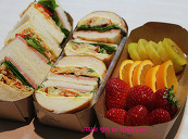 빵속을 가~~~득 채워서! 영양도 균형있게, 샌드위치도시락