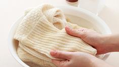 니트 손세탁할 때 주의할 점이 있나요?