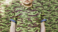 군복에 있는 얼룩 무늬를 뭐라고 부르나요?