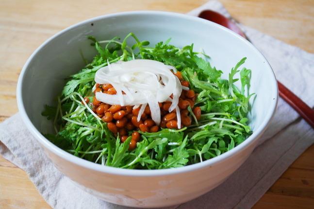 낫토비빔밥
