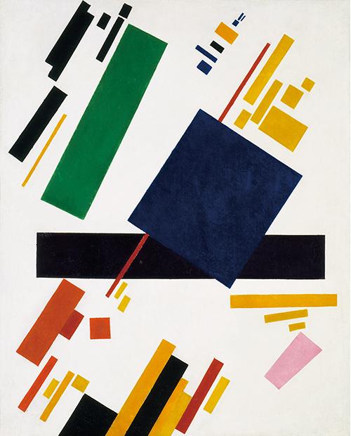 카지미르 말레비치, 〈절대주의 구성 회화〉, 캔버스에 유화 / 88.5×71cm