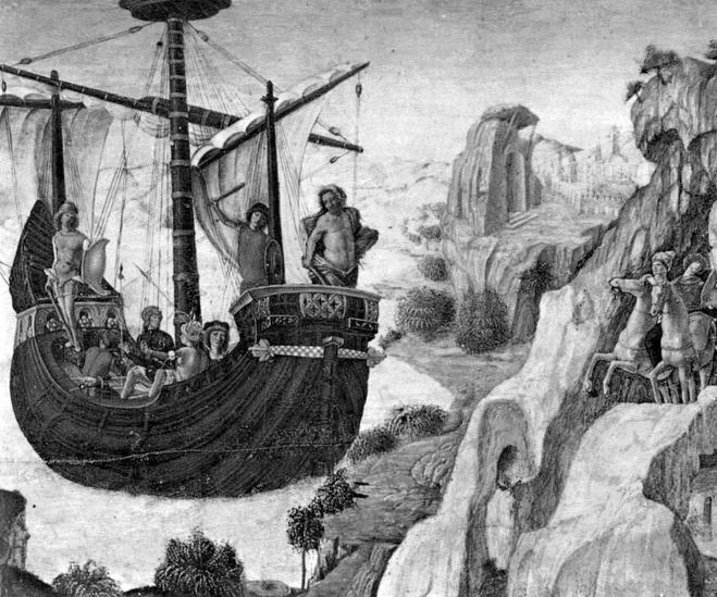 아르고 호, Lorenzo Costa, 16세기