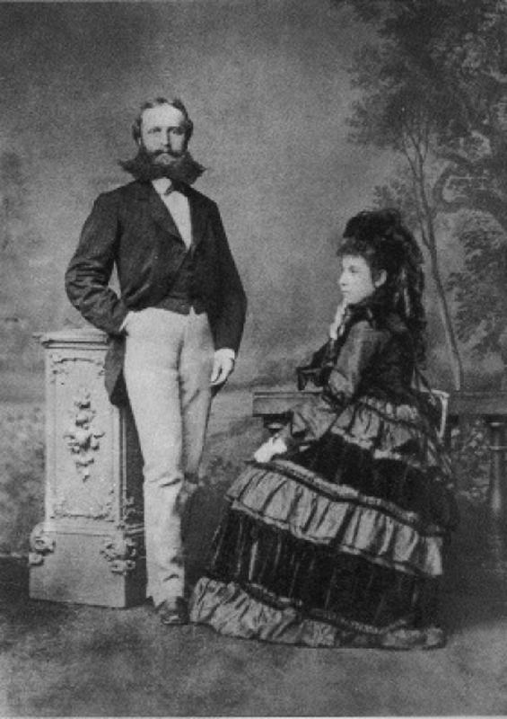 릴케의 부모 요제프와 피아