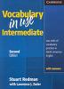 Vocabulary in Use Intermediate with Answers(미국식영어)