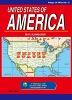 미국 지도(영문)(세계의지도)